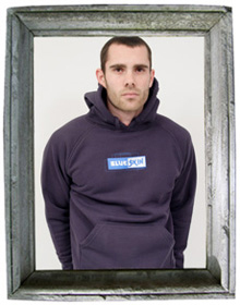 Ben in Logo Men's Hoody