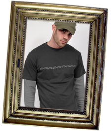 Minis Mens Long Sleeved T-shirt