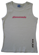 Housewife Womens Vest Top