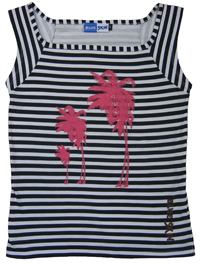 Palm Trees Womens T-shirt