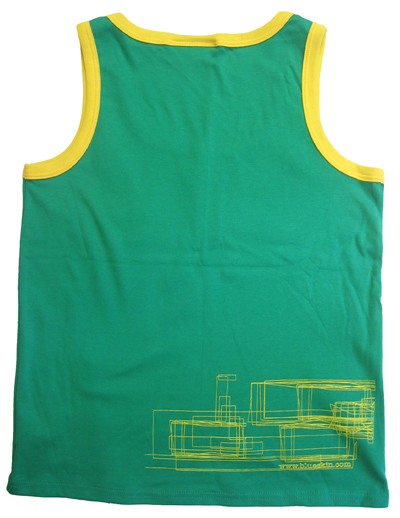 Skyline Womens Vest Back View