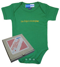 Chips Baby Bodysuit