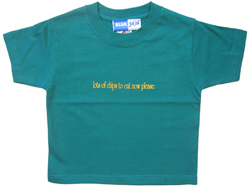 Lots of Chips Now Kids T-shirt