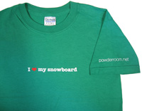 love my snowboard Sale T-shirt